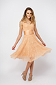 Knitted Peachy Dress