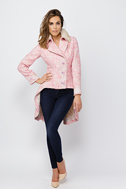 Coat With Prolonged Back