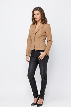 Brown Cashmere Jacket